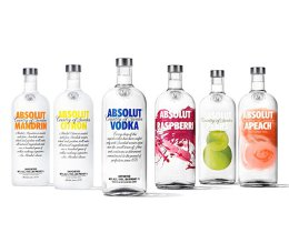 Vodka Absolut Mùi