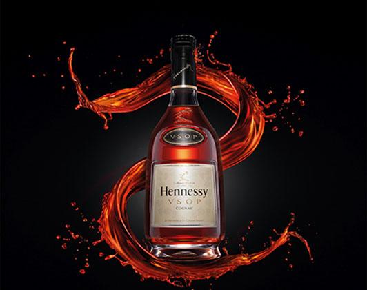 Rượu vang Hennessy VSOP có thiết kế sang trọng